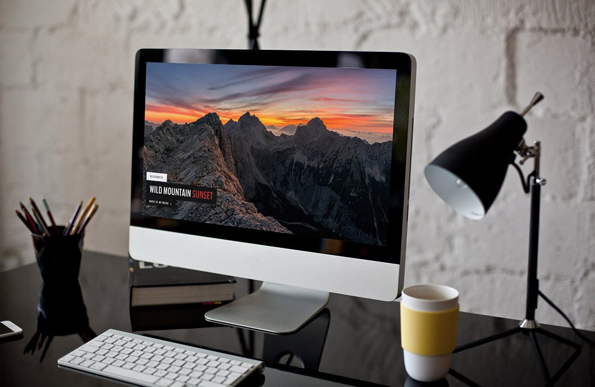 DreamScape is a great WordPress Theme for Photography