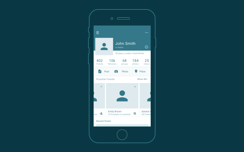 Download Wireframes, mockups and prototypes - do you need them all ... Free Mockups