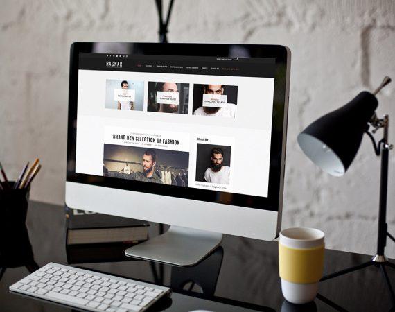 Ragnar Lite: Free Bold WordPress Blog Theme