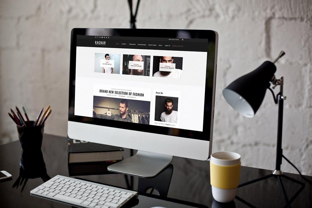 Free Bold WordPress Blog Theme
