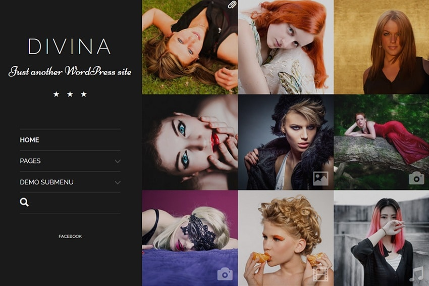 divina free wordpress theme