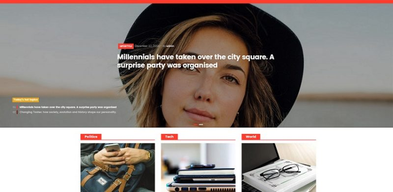 Top 13 Free WordPress Photography Themes 2018