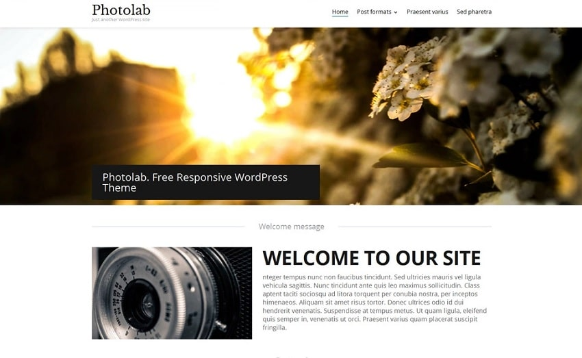 photolab free wordpress theme