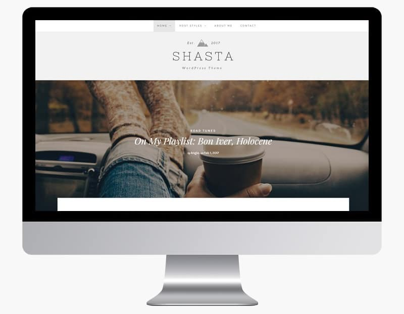 shasta wordpress theme