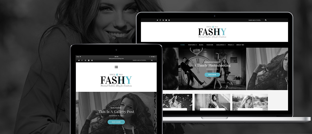 Responsive mode of Fashy Lite