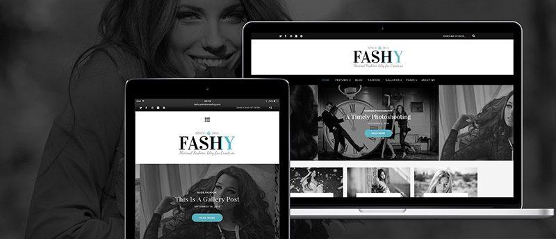 NEW THEME: Fashy – A Responsive WordPress Fashion Blog Theme
