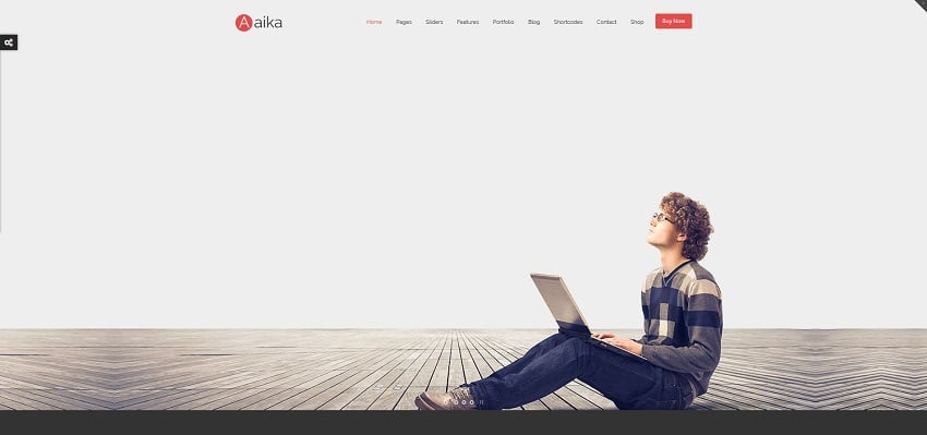 aaika multipurpose wordpress theme