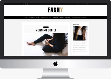 Fashy Lite: Free Fashion WordPress Blog Theme