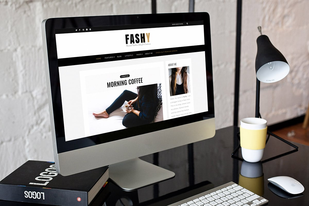 Fashy Lite: Free WordPress Blog Theme