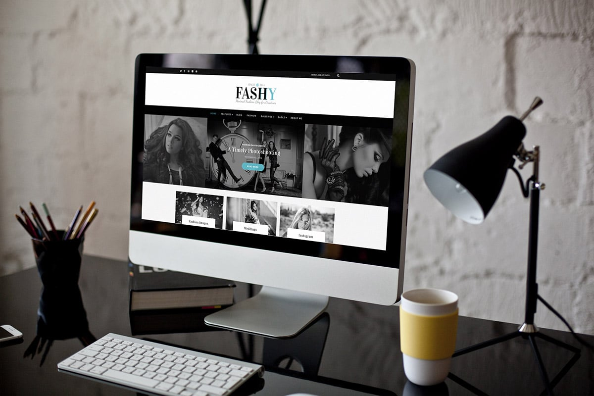 Fashion WordPress Blog Theme