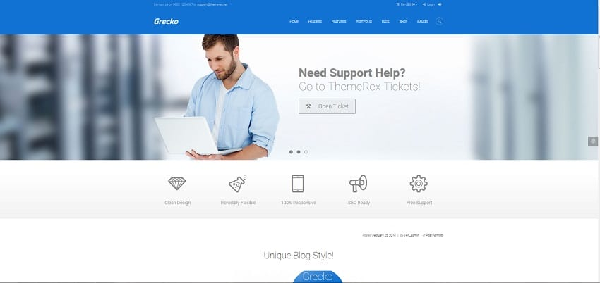 grecko multipurpose wordpress theme
