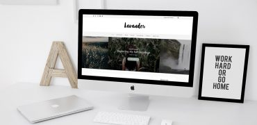 Lavander Lite: Free Lifestyle WordPress Blog Theme