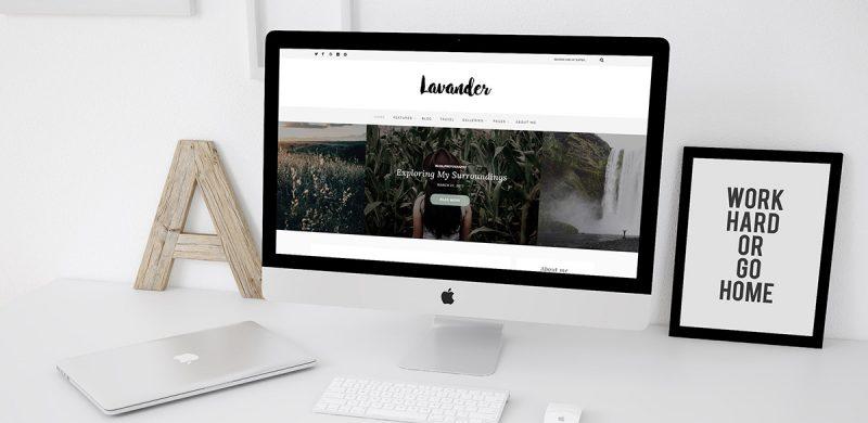Lavander Lite: Free Lifestyle WordPress Blog Theme
