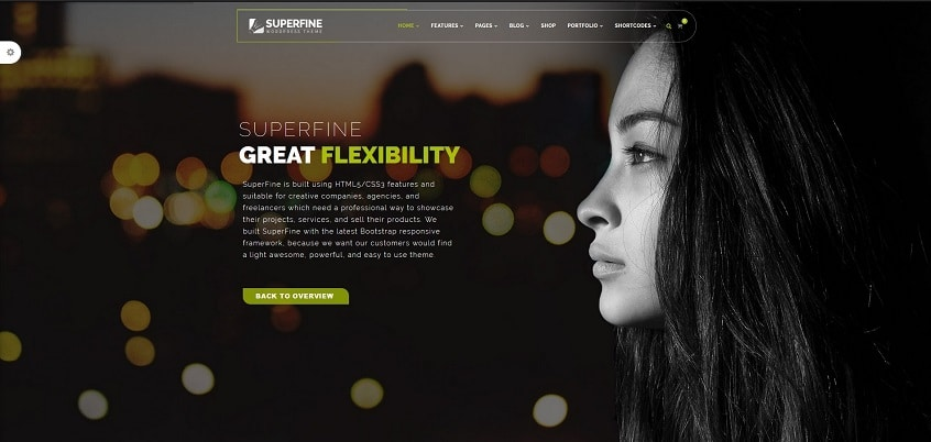 super fine multipurpose wordpress theme