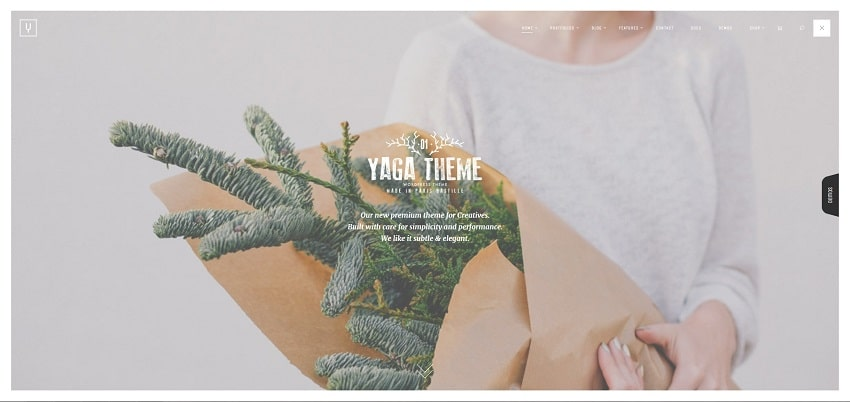yaga multipurpose wordpress theme