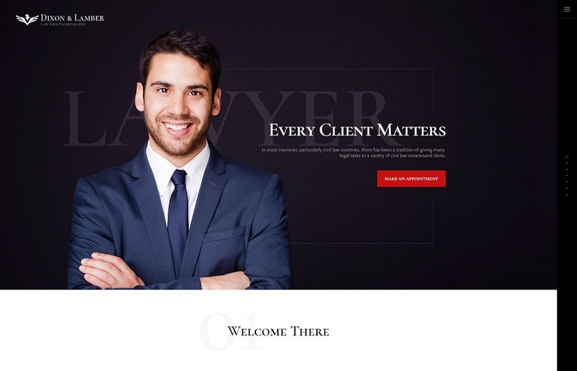 dixon and lamber wordpress theme