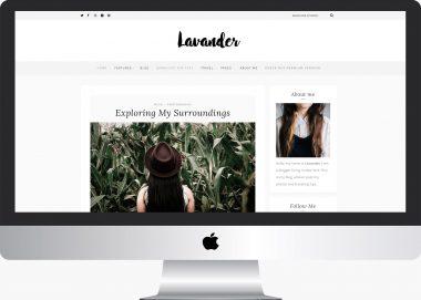 Lavander Lite: Free Lifestyle WordPress Theme
