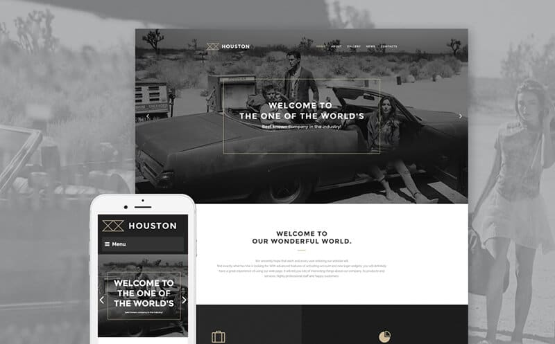 Houston WordPress Theme