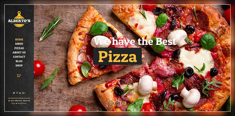 albertos restaurant pizza fast food-wordpress-theme