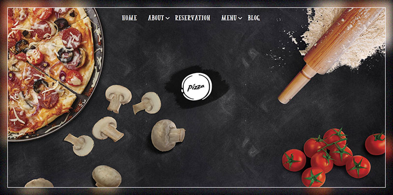 pizza restaurant pizzeria wordpress theme