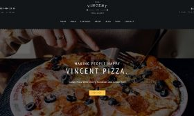 20 Best Responsive Pizzeria WordPress Themes 2019