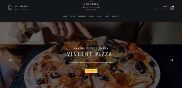 15 Best Responsive Pizzeria WordPress Themes 2017