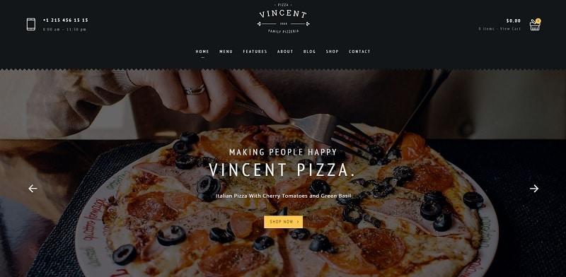 24 Best Responsive Pizzeria WordPress Themes 2020