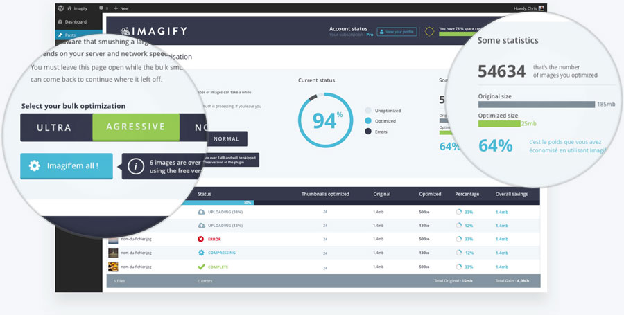 Imagify WordPress Plugin