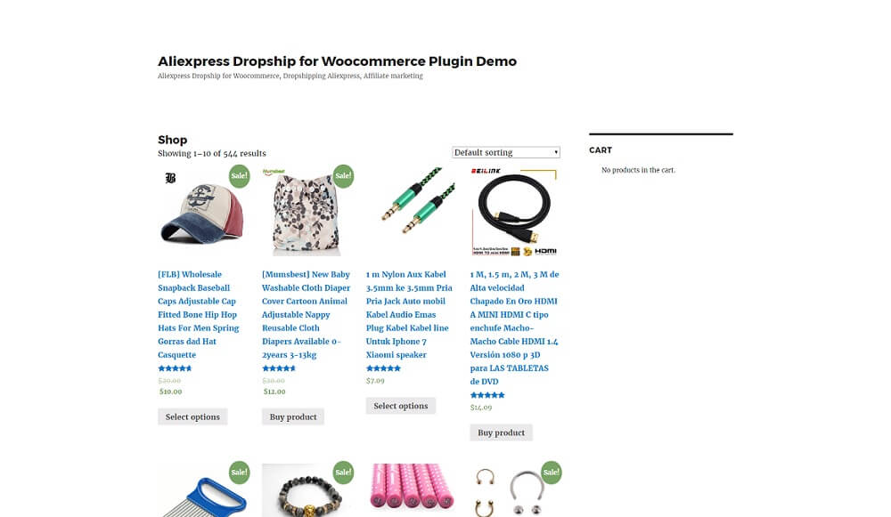 aliexpress dropship for woocommerce plugin