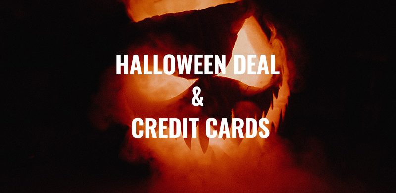 Credit Card Payments and 50% Discount For Halloween