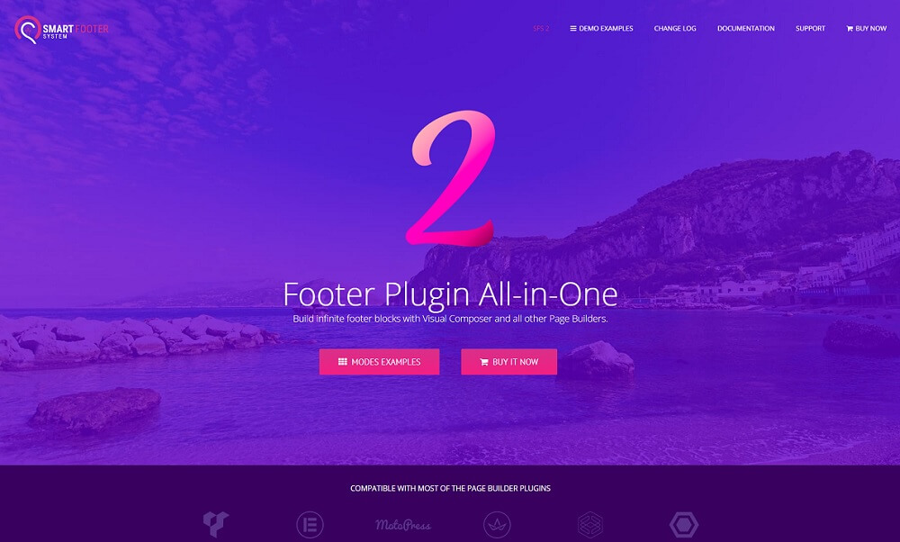 smart footer system wp plugin