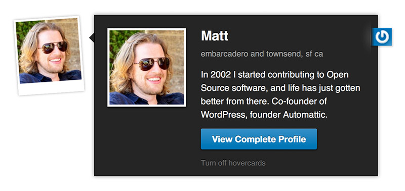 WordPress User Avatar