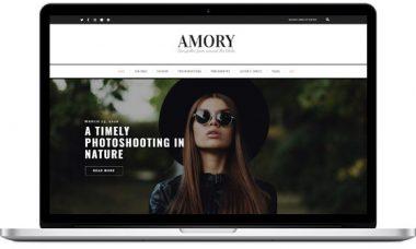 Amory Blog – Feminine Blog Theme