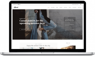 Anariel – A WordPress Fashion Blog Theme