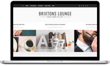 Brixton Blog -Best selling blog theme