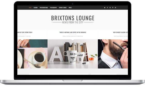 Brixton Blog -Best selling blog theme