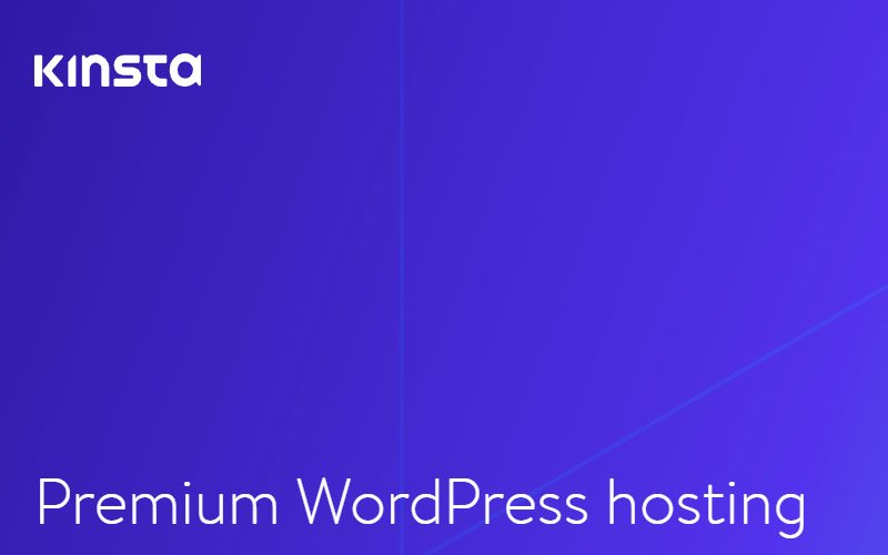 Kinsta WordPress Web Hosting