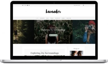 Lavander – A Lifestyle Blog Theme