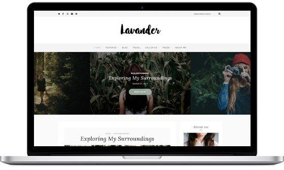 Lavander – A Lifestyle Blog Theme