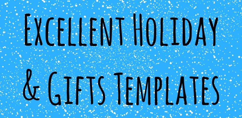 20 Excellent Holiday & Gifts Templates 2017