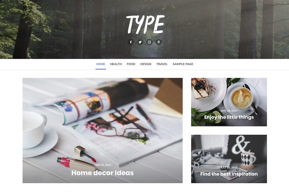 type free wordpress theme
