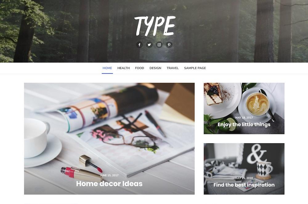 type free wordpress theme