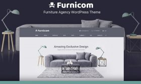 13 WordPress Themes for Furniture Companies 2020