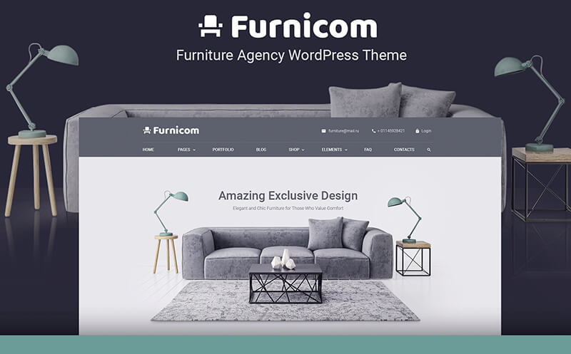 15 WordPress Themes for Furniture Companies 2020