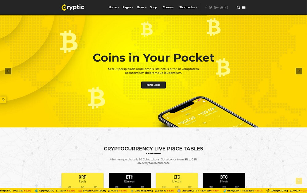 15 Best Bitcoin WordPress Themes 2018 - PremiumCoding