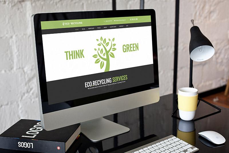 Eco Recycling - Ecology & Nature WordPress Theme - 1