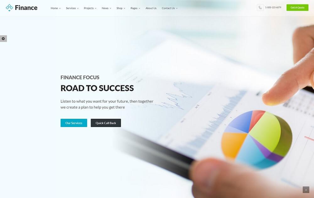 finance bitcoin wordpress theme
