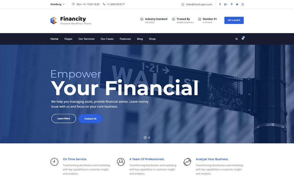 financity bitcoin wordpress theme