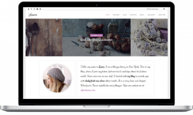 Laura – A Feminine WordPress Blog Theme