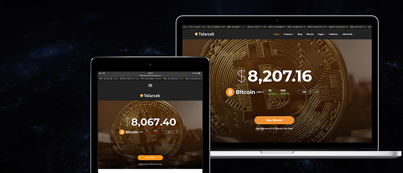Tolarcek - A Bitcoin & CryptoCurrency WordPress Blog Theme - 6